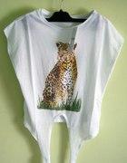 Koszulka Pantera Pull&Bear