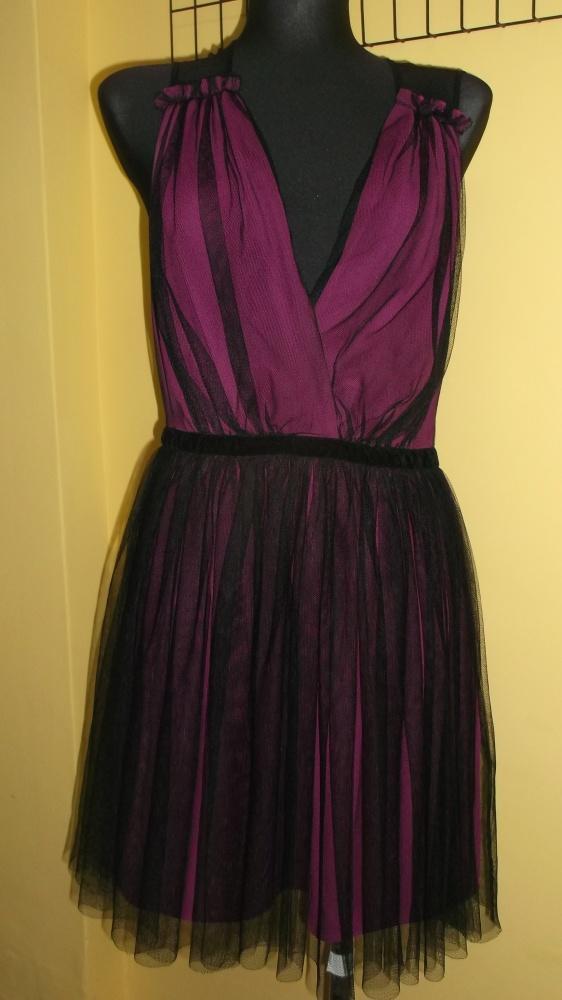 Sukienka Asos siateczka rozkloszowana uk12 40