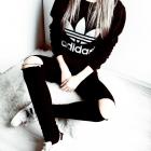 Bluza Adidas all black