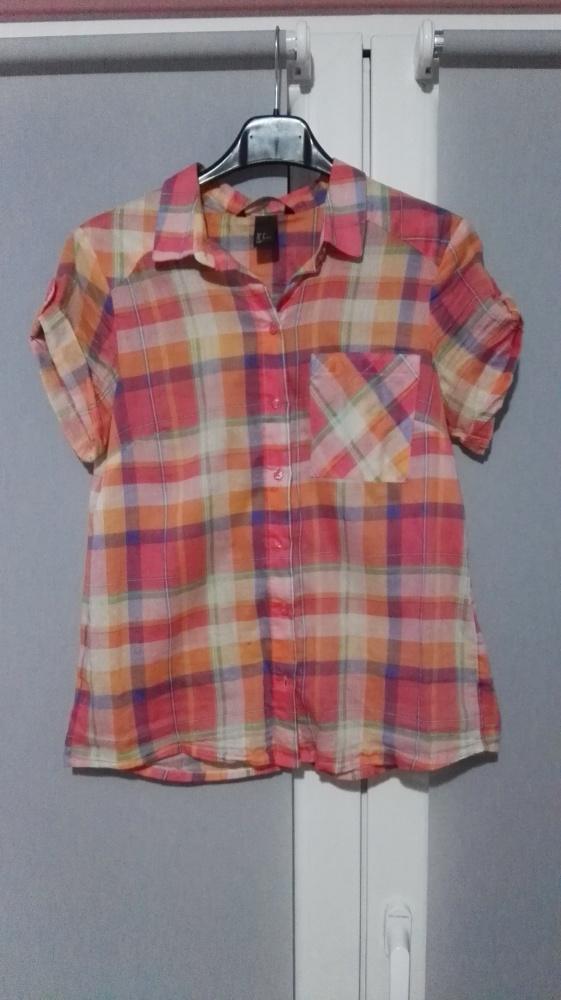 Koszule Koszula w kolorową kratę