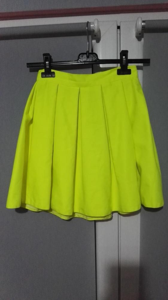 Spódnice Neonowa Spódnica