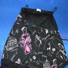 Czarna spódnica asymetryczna
