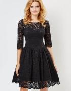 Czarna sukienka Audrey...