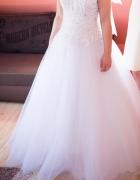 Suknia Ślubna typu princess r 38 plus gratisy