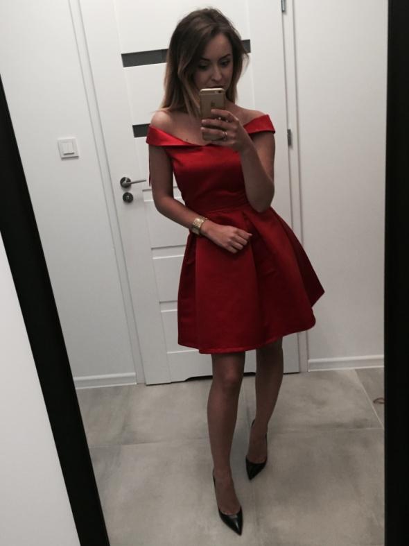 Suknie i sukienki Czerwona ZARA