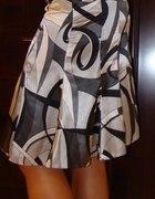 Szara satynowa spódnica Orsay S 36