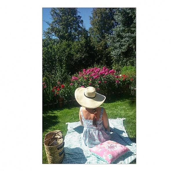 Romantyczne Po domowemu w ogrodzie