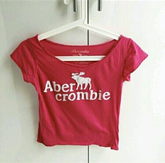 Ubrania koszulka bluzka Abercrombie napis
