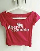 koszulka bluzka Abercrombie napis...