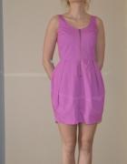 Sukienka w kolorze fuksji Troll