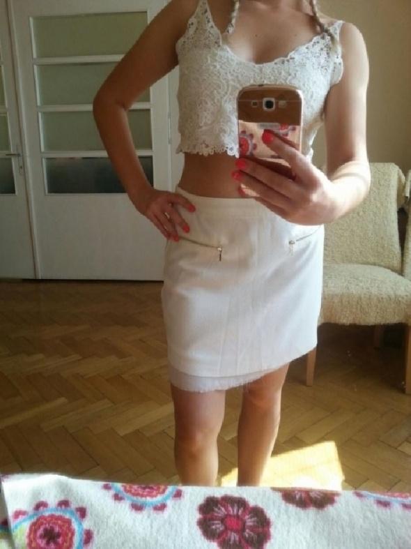 Spódnice Biała spódnica AMISU