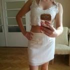 Biała spódnica AMISU
