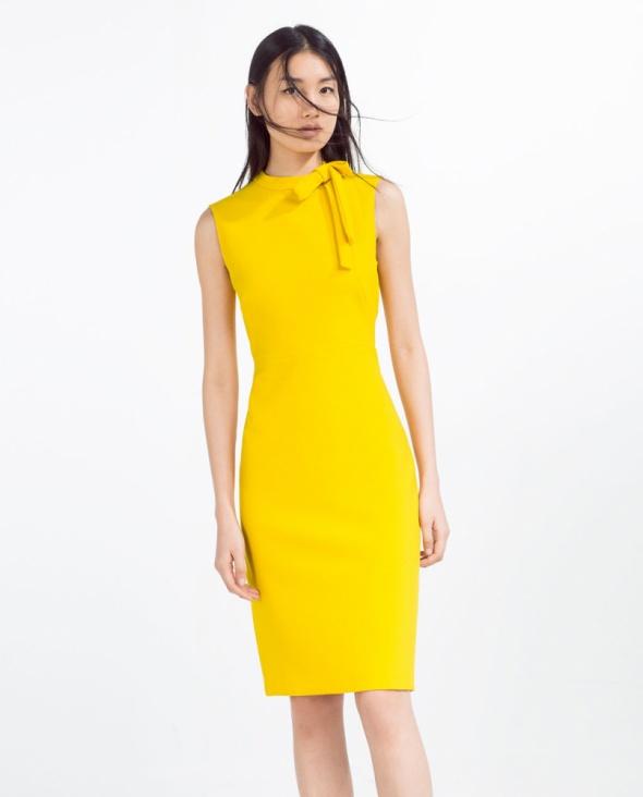 2fbe11adf6 Żółte ubrania marki zara Szafa.pl