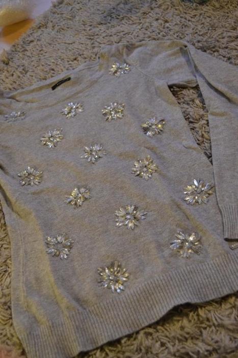 Ubrania Sweterek Mohito szary