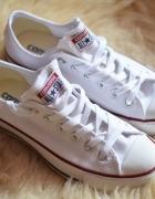 Converse białe rozmiar 39 długość wkładki 25 cm...