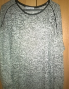Cienki melanżowy sweter rozmiar 40...