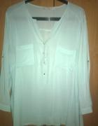 Miętowa koszula Reserved rozmiar 44...