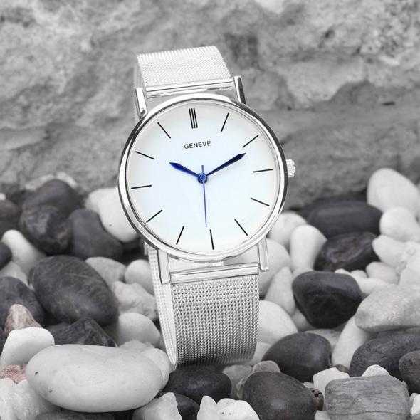 Zegarek Srebrny Bransoletka