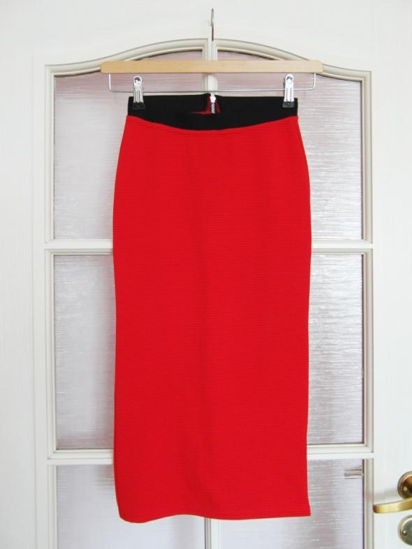Spódnice Ołówkowa dopasowana spódnica ZIP