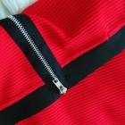Ołówkowa dopasowana spódnica ZIP