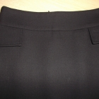 Czarna ołówkowa spódnica Zara Basic XS