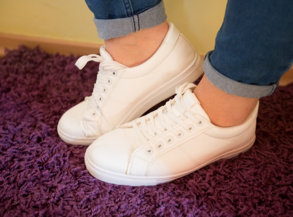 Sportowe białe buty rozmiar 39