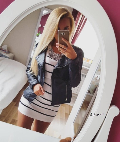 Mój styl sukienka w paski