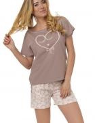Piżama z koszulką i szortami