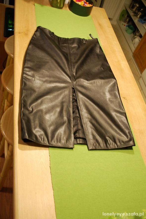 Spódnice Skórzana spódnica ołówkowa