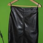 Skórzana spódnica ołówkowa