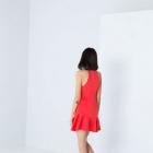 BERSHKA sukienka MINI zamek ZIP rozszerzana SEXY M