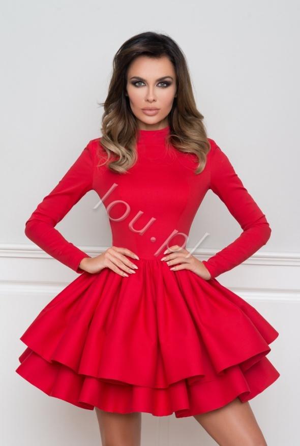 Sukienka Lou Noemi XS S czerwona