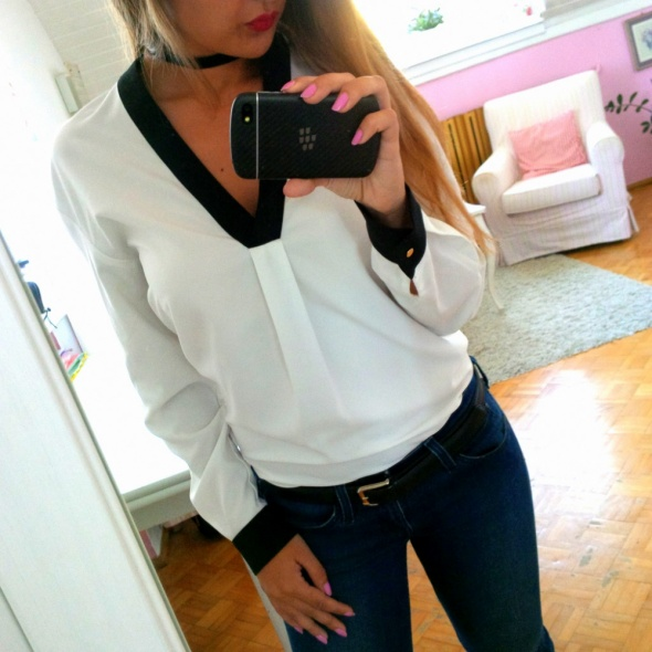 Mój styl Black white