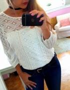 Biało czarno jeansowo