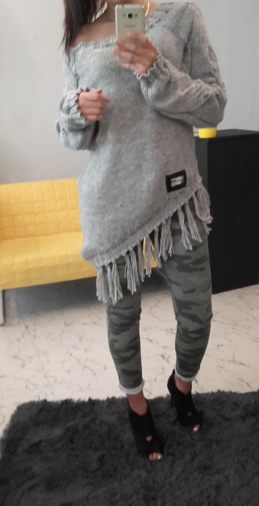 Codzienne JESIEŃ sweterek w roli głównej