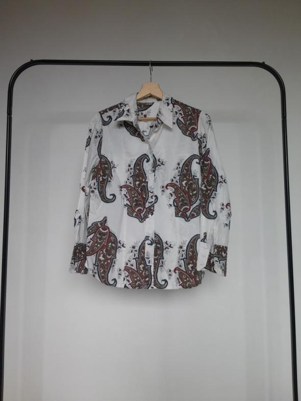 Damska koszula wzory etno boho hippie 40 L w Koszule Szafa.pl  uoLeD