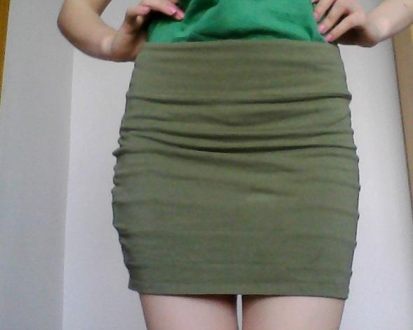 Spódnice spódniczka z tyłu zip