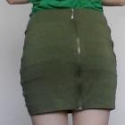 spódniczka z tyłu zip