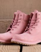 Timberland premium 6 inch boot pink 39