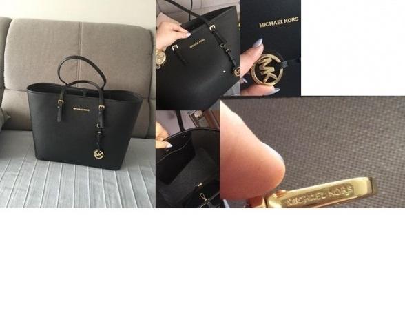 Przepiękny shopper bag Michael Kors