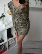 Sweterkowa Sukienka Amisu S