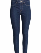 Jeansy H&M Skinny High Ankle