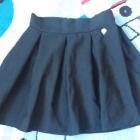 Czarna spódniczka rozkloszowana S