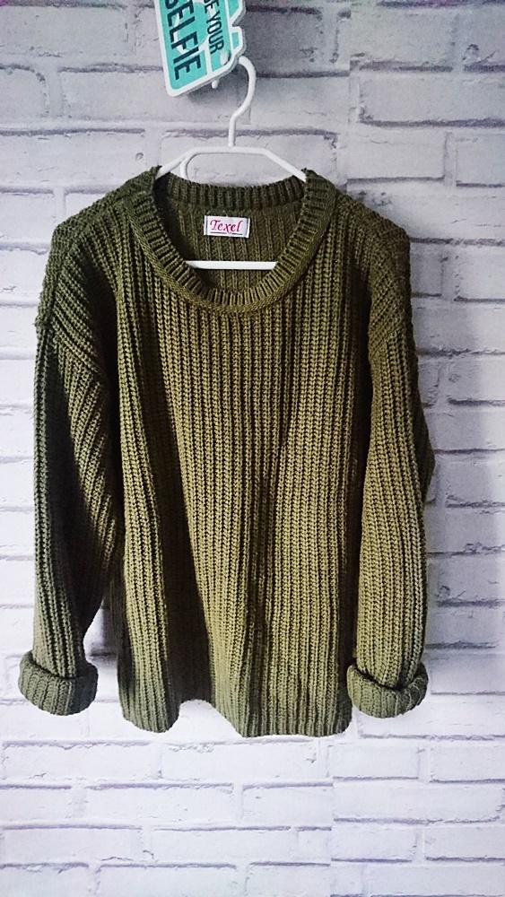 sweter khaki w Swetry Szafa.pl
