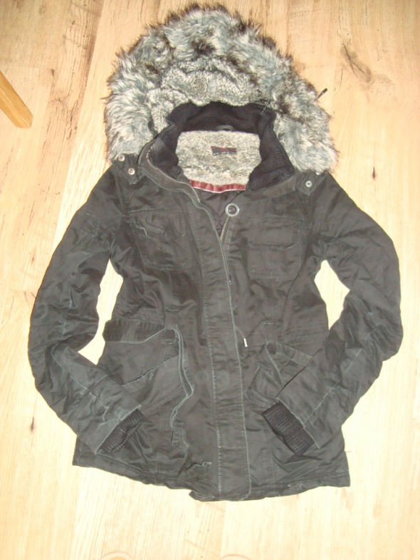 zimowa ciepła kurteczka
