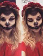 próbny makeup halloweenowy 2016...