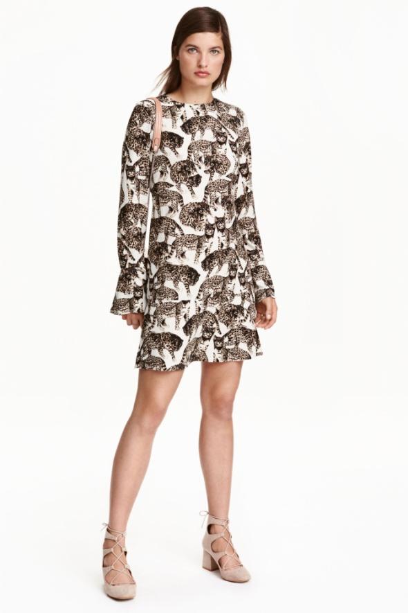 H&M sukienka w koty...