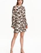 H&M sukienka w koty