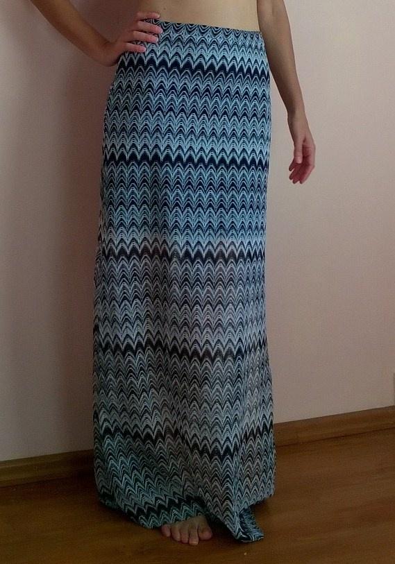 Spódnice Maxi spódnica we wzorki Miss Selfridge