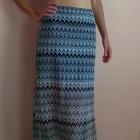 Maxi spódnica we wzorki Miss Selfridge